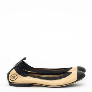 Sapatilha-Chanel-Elastico-Bicolor