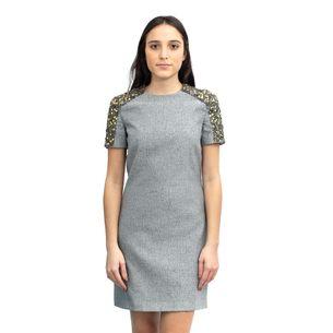 Vestido-Burberry-Cinza-Pedrarias
