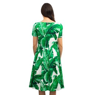 Vestido-Dolce---Gabbana-Folhagens