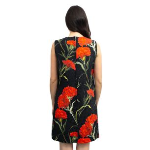 Vestido-Dolce---Gabbana-Preto-Estampado