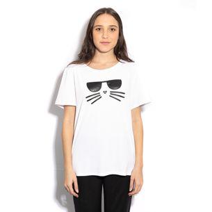 Camiseta-Karl-Lagerfeld-Gatinho