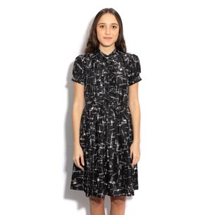 Vestido-Kate-Spade-Cinza
