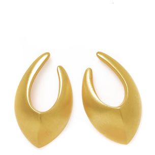 Brinco-Givenchy-Dourado-Fosco