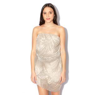 Vestido-Armani-Exchange-Tomara-Que-Caia-Creme