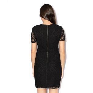 Vestido-Burberry-Croche-Preto