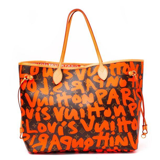 63359-Bolsa-Louis-Vuitton-Neverfull-Graffiti-Laranja-1