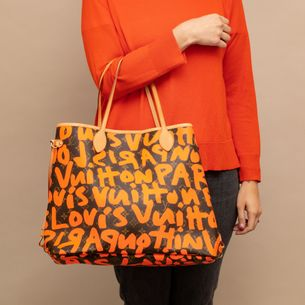 63359-Bolsa-Louis-Vuitton-Neverfull-Graffiti-Laranja-verso