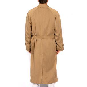 Trench-Coat-Burberry-Caqui-Comprido