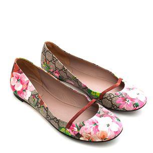 Sapatilha-Gucci-Monograma-Flores