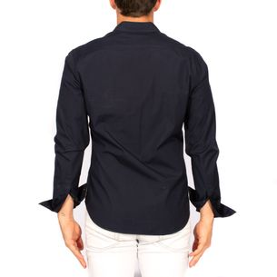 62900-Camisa-Social-Burberry-Brit-Azul-Marinho