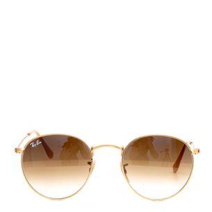 Oculos-Rayban-Round-Dourado-Degrade