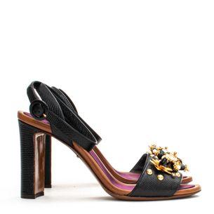 Sandalia-Dolce---Gabbana-Pedraria-Preta