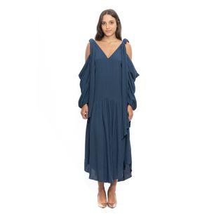 Vestido-Warla-Cris-Barros-Azul-Midi