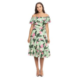 Vestido-Isolda-Verde-Estampa-Floral