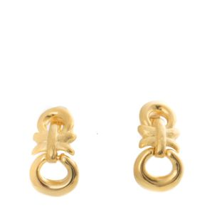 Brincos-de-Pressao-Givenchy-Dourado-Pendurado