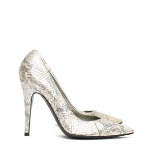Sapato-Sergio-Rossi-Python-Metalizado