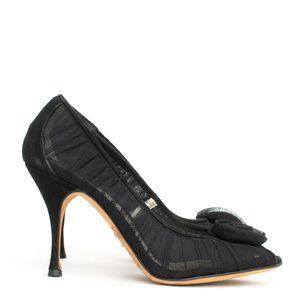 Sapato-Dolce---Gabbana-Tule-Preto