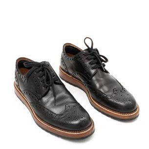 Sapato-Social-Louis-Vuitton-Oxford-Verniz-Preto