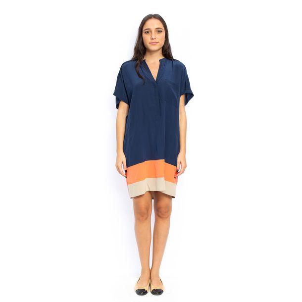 Vestido-BCBG-Azul-Marinho