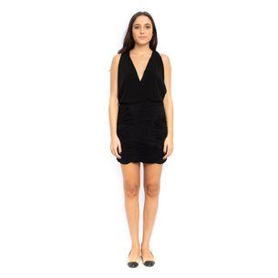 Vestido-BCBG-Decote-V-Preto
