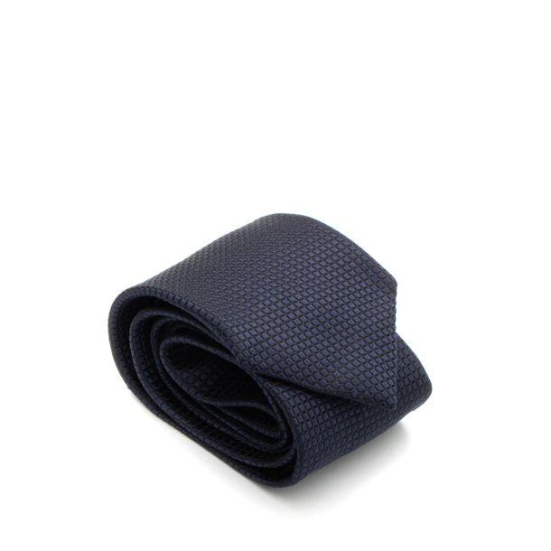 Gravata-Ermenegildo-Zegna-Azul-Marinho