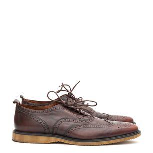 Sapato-Burberry-Couro-Marrom