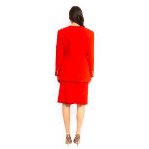 Conjunto-Blazer-e-Saia-Valentino-Vermelho-Vintage