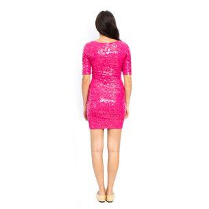 Vestido-BCBG-Paete-Rosa