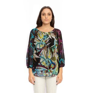 Blusa-Versace-Collection-Estampa-Colorida
