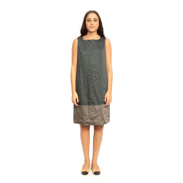 Vestido-MaxMara-Chumbo