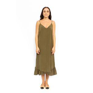 Vestido-Cris-Barros-Verde-Militar