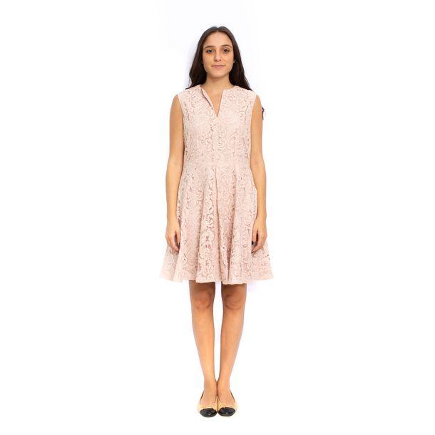 Vestido-Burberry-Renda-Rose