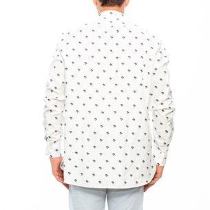 Camisa-Saint-Laurent-Branca-Coqueiros