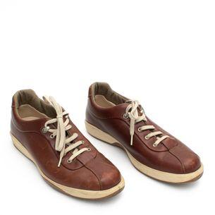 Sapato-Salvatore-Ferragamo-Couro-Marrom