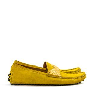 Mocassim-Gucci-Camurca-Amarela