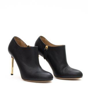 Ankle-Boot-Valentino-Couro-Preto