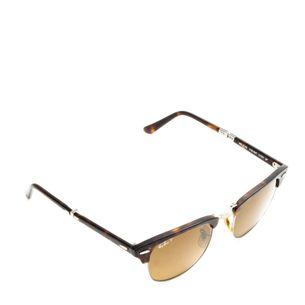 Oculos-Ray-Ban-Clubmaster-Dobravel-Marrom