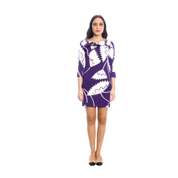 Vestido-Diane-Von-Furstenberg-Estampado-Roxo