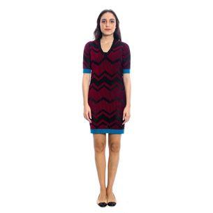 Vestido-Missoni-Preto-e-Vermelho