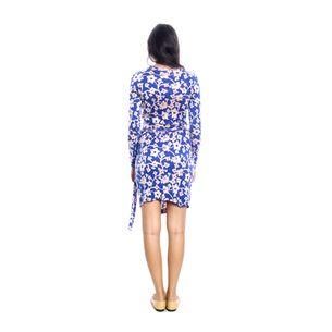 Vestido-Diane-Von-Furstenberg-Wrap-Cashmere-Azul