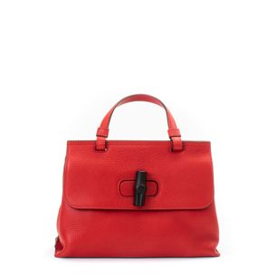 Bolsa-Gucci-Bamboo-Daily-Top-Handle-Bag-Vermelha