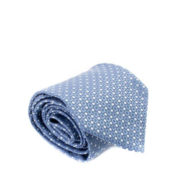 Gravata-Salvatore-Ferragamo-Azul-Bolinhas