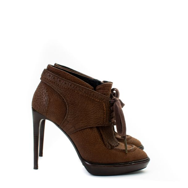 Ankle-Boot-Burberry-Couro-Marrom