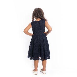 Vestido-Infantil-Carolina-Herrera-Azul-Marinho