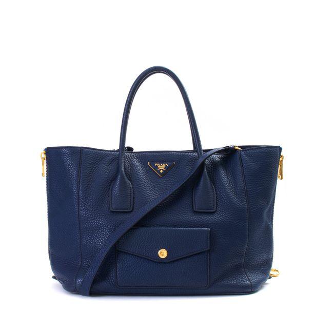 Bolsa-Prada-Tote-Daino-Azul