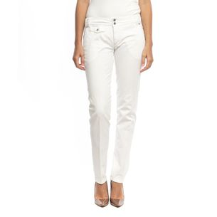 D-G-White-Denim-Pants