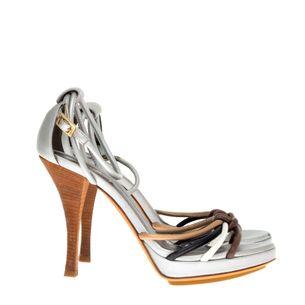 Fendi-Silver-Color-Sandals