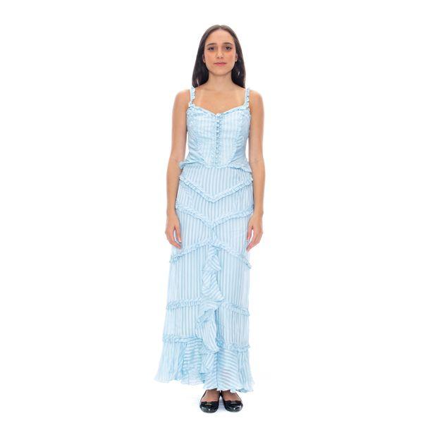 Vestido-Cris-Barros-Babados-Azul