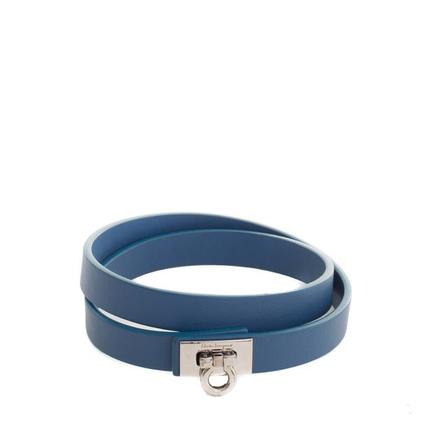 Bracelete-Salvatore-Ferragamo-Couro-Azul
