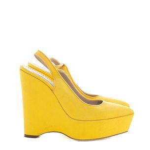 Sapato-Anabela-Stella-McCartney-Amarelo